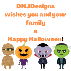 DNJDesigns wishes you and your family a Happy Halloween!